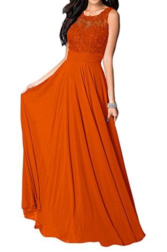 mujer Naranja Missdressy trapecio para Vestido 1g1tfWSB