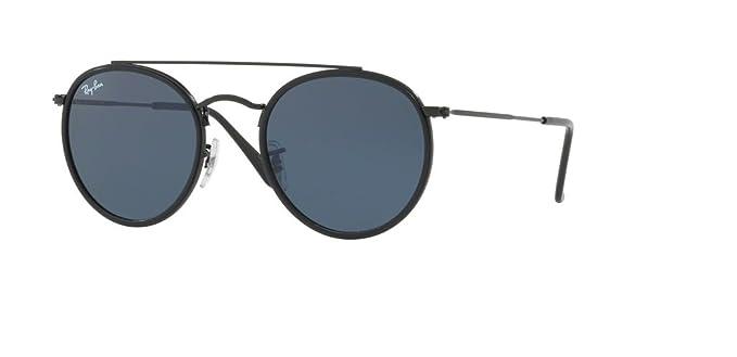2430c612e2 Amazon.com  Ray-Ban RB3647N 002 R5 51M Black Grey Sunglasses For Men ...