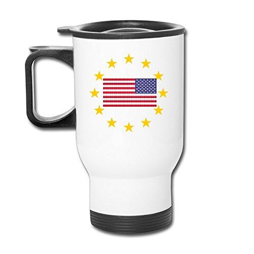 - Custom European US Stars Handy Travel Mugs Gift By Katiydry