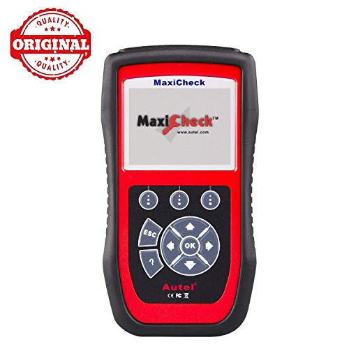 Autel MaxiCheck Pro Diagnostic Tool for ABS Brake Auto Bleed, Oil Service, ABS, SRS, BMS, DPF, EPB Service, SAS, Oil Light/Service Reset Scanner (Anti Lock Brake System Abs Diagnostic Scan Tool)