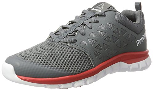 2 Cushion 0 Reebok Uomo Mt primal Sublite white Xt Scarpe Running Red Grigio pewter alloy FpxpAfnw