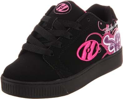 Heelys Dreamer Skate Shoe (Little Kid/Big Kid),Black/Pink ,12 M US Little Kid