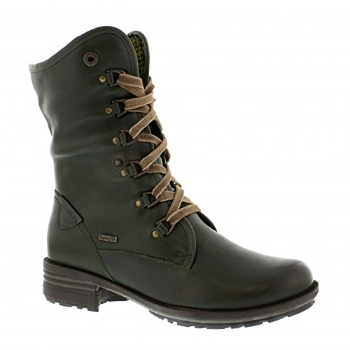 Sandra 19 Forest Comfortable Lace Up Boots