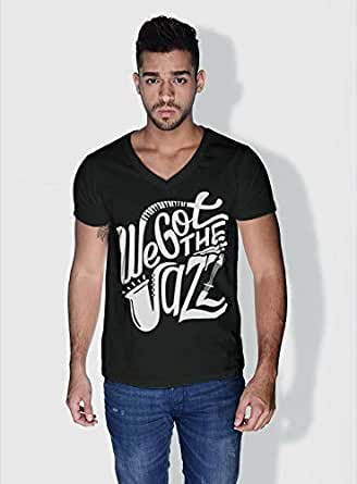 Creo We Got The Jazz Trendy T-Shirts For Men - S, Black