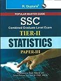 SSC: Combined Graduate Level Tier-II (Paper-III) Statistics Exam Guide