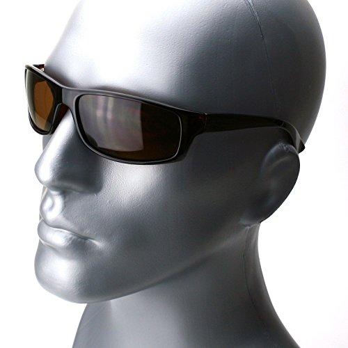 Brown Brown Lens Polarized Mens Womens Sunglasses Designer Fashion Eyewear Black Brown - Sunglasses Native Bolt