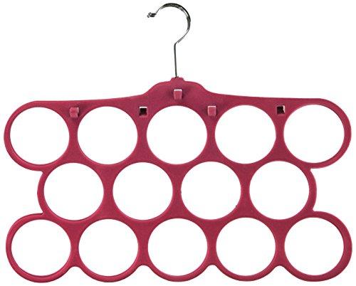 Storage Wardrobe and Clothes Organizer (Hot Pink) - 4