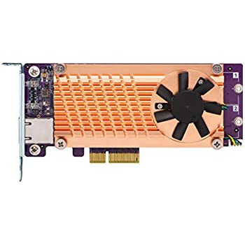 Amazon com: QNAP QM2-2P10G1T Dual NVMe M 2 22110/2280 PCIe SSD and