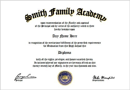 Home School High School Diploma - Homeschool Lover