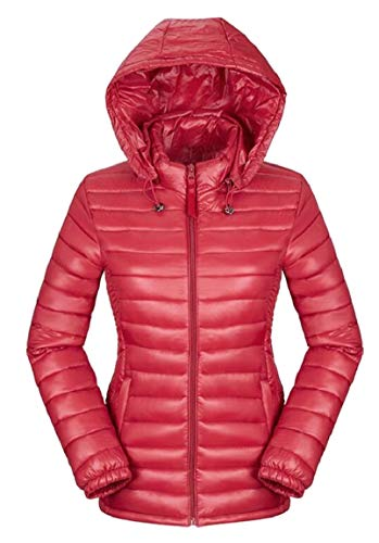 Jacket Package Short Women's 2 Jacket Ultra Hooded Weight Light security Down Coat Down qtSH8n5
