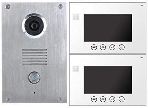 """7/"""" LCD Farb Video Gegensprechanlage Türsprechanlage Monitor Klingel Sprechanlage"""
