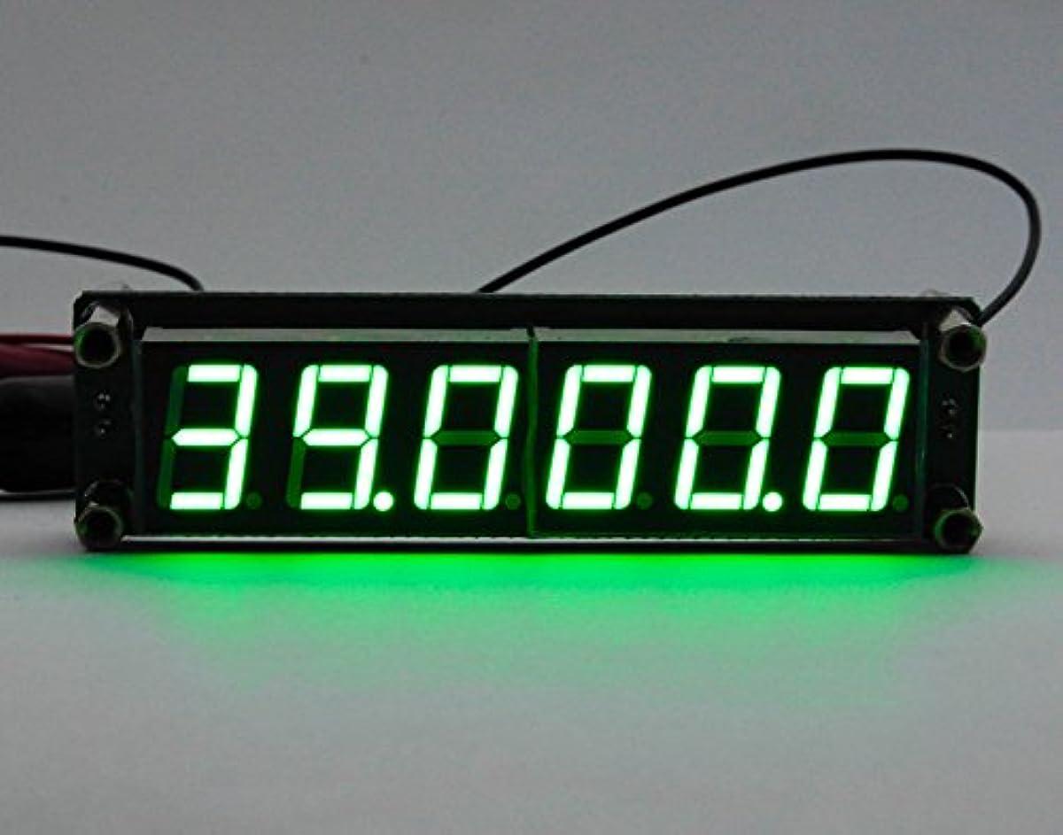 [해외] 【SANCTUS】 주파수 카운터 모듈 6LED 0.1~65MHZ 신호 발생기에 의한 동작 확인필