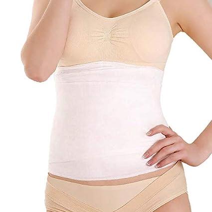 48d14d8c0bb QIQI Postpartum Abdomen with Gauze Abdomen Belt Pure Cotton Double Layer  Maternal Gauze Postpartum Gauze Belly