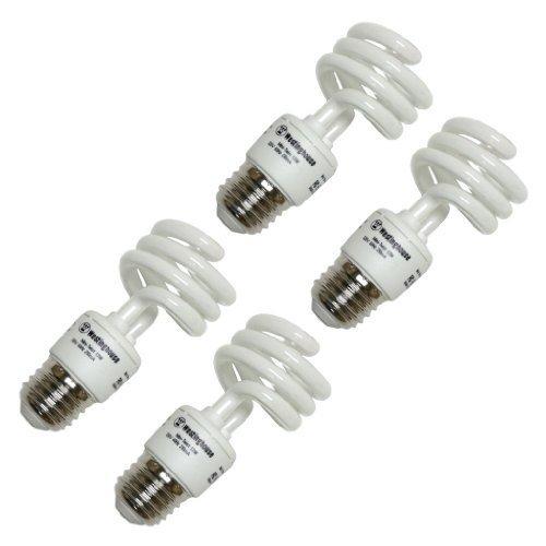 - Westinghouse 3794600, 13 Watt CFL Light Bulb, (60W Equal) 2700K Soft White 82 CRI 900 Lumens