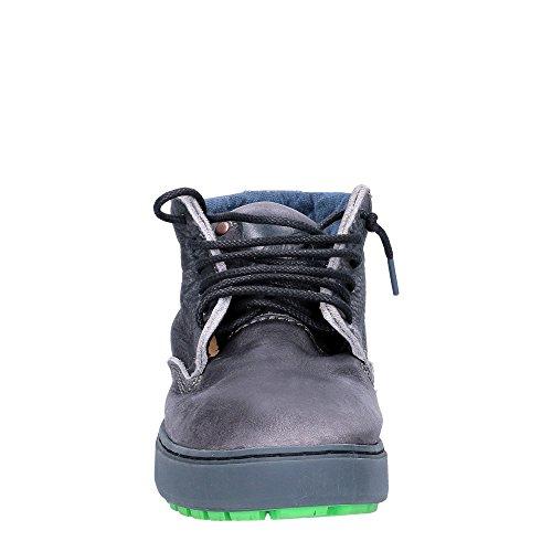 alte 162023 lacci Colore black pelle scarpe nero Wanaka uomo SATORISAN Y8qxFF