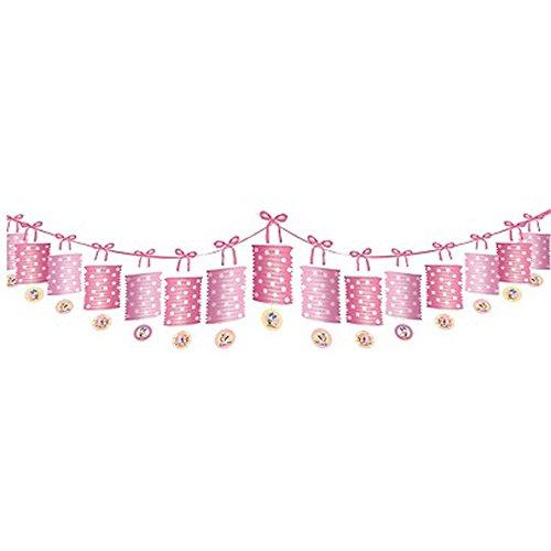 Minnie Mouse 1st Birthday Paper Lantern Garland (12ft)
