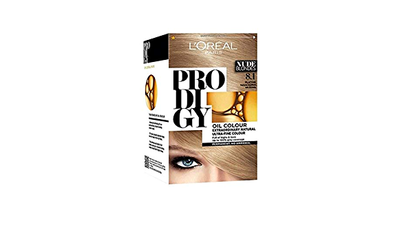 LOréal Prodigy - Rubio claro ceniza 8,1 sin amoniaco: Amazon ...