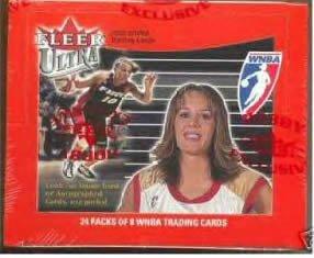 (2002 Fleer Ultra WNBA Basketball Cards Hobby Box)