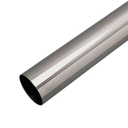 Atlantis RailEasy 316 Stainless Steel Tubing 2 OD X 48 L 1 16