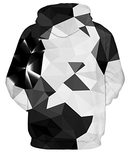 Amoma Pull Black White Homme Triangle H8HqO