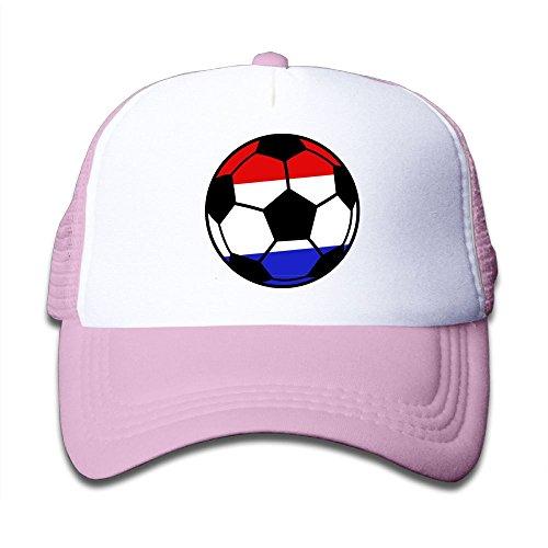 Aiw Wfdnn Mesh Baseball Caps Girls Dutch Flag Football Great Adjustable