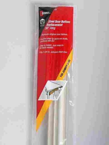 Johnson Replacement Steel Door Bottom Weatherstrip