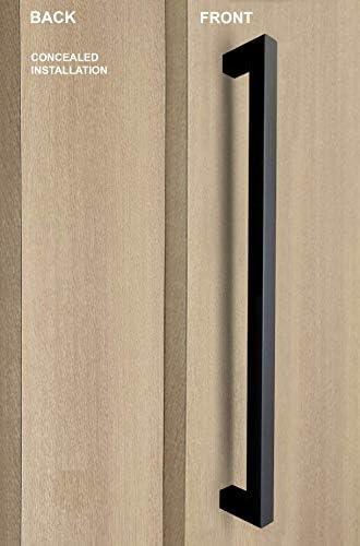 "Door Pull Handle Front Entry Modern Stainless Steel Commercial Long Door 16/"""