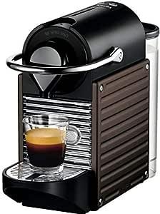 Nespresso Pixie Coffee Machine, Dark Brown [C60-ME-DB-NE]