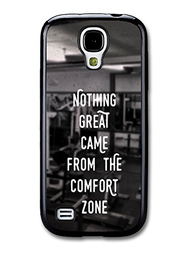 Gym Motivational Quote on Black and White Stylish Fashion coque pour Samsung Galaxy S4 mini