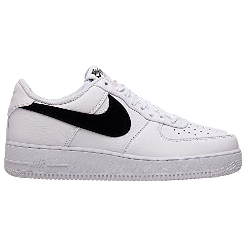 Nike Air Force 1 '07 PRM 2 Mens Sneakers AT4143-102, White/Black, Size US 8