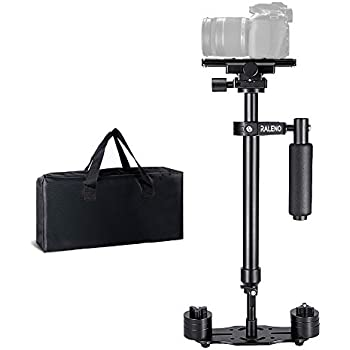 FLYCAM Redking Quick Balancing Video Camera Stabilizer with Dovetail Quick Release Bag FLCM-RK Professional CNC Aluminum Camera Stabilizer for DSLR BMCC Sony Nikon DV Camcorders up to 7kg//15.4lb