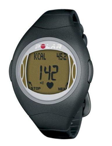 (Polar F4 Women's Heart Rate Monitor Watch (Black Amber))