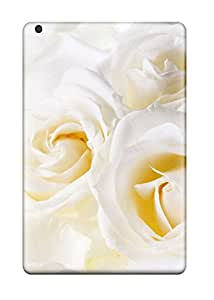 Kara J smith's Shop Best Tpu Case Cover Compatible For Ipad Mini 3/ Hot Case/ White Roses 2379657K53786268