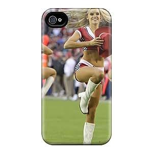 Iphone Case - Tpu Case Protective For Iphone 4/4s- Arizona Cardinals Cheerleader Costume