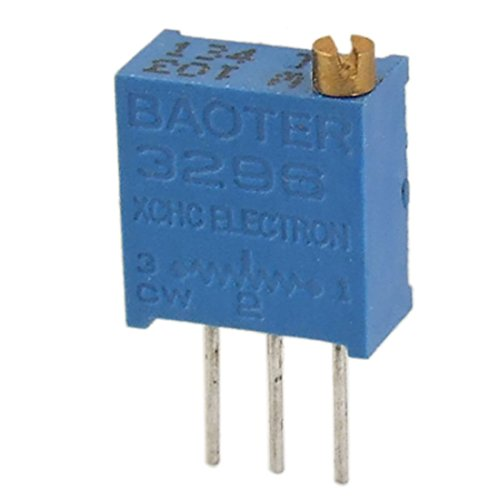 SODIAL(R) 50 Pcs 103 10K ohm 3296W Trim Pot Trimmer Potentiometer 25 Turn