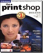 - The Print Shop 21 Deluxe By Broderbund