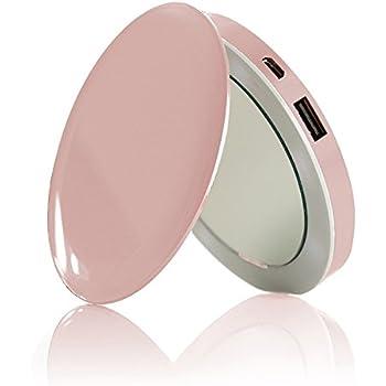Amazon Com Hyper Pearl Compact Make Up Mirror Amp Usb