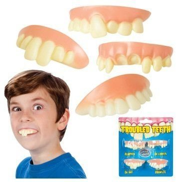 Billy Bob Teeth Braces - Toysmith Troubled Teeth Toy