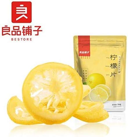 中国名物 おつまみ 大人気 良品铺子 柠檬片 水果茶 柠檬茶 水果干 柠檬干 蜜饯零食 70g