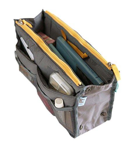 kreativ Multifunktions-Wash Bag tragbare Reisetasche Kosmetiktasche, grau