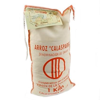 Calasparra Arroz – 1 Kilo Bag (2,2 Libra): Amazon.com ...