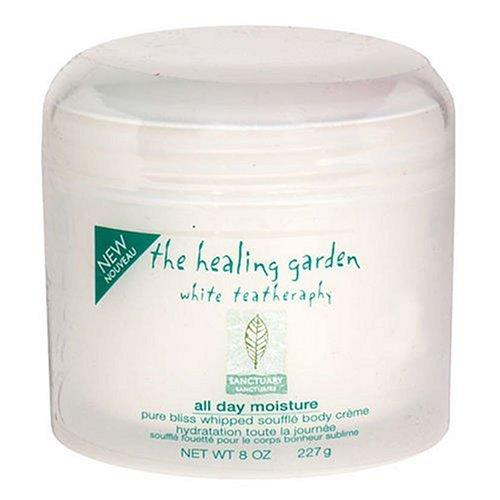 Healing Garden White Teatheraphy Whipped Souffle Body Creme, Sanctuary - 8 oz
