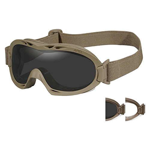 Wiley X 4523-0209 R-8052T Nerve Goggles -