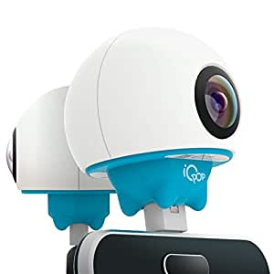 Giroptic IO2-2K iO Pop HD 360 camera for Android Smartphones (Micro USB Type B and Type C).