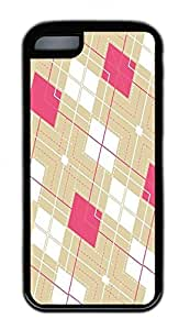 Distinct Waterproof And White Grid Design Your Own iPhone 5c Case