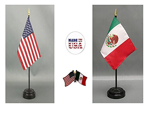 (K's Novelties Made in The USA. 1 American and 1 Mexican 4