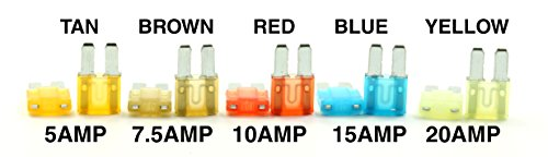 Fast Shipping Lumision Automotive Micro2 ATR APT Fuses Assorted 10 pcs Lumision 5A, 7.5A, 10A, 15A, 20A - 10 Fuses