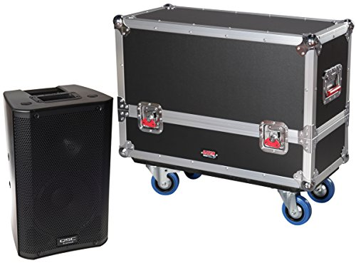 Gator Cases Tour Series Speaker Case for Two QSC K8 Speaker Cabinets G-TOUR SPKR-2K8 by Gator