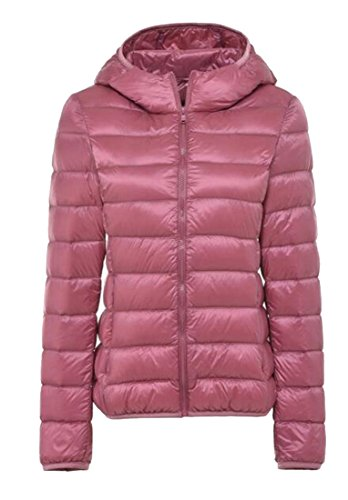 Puffer Ultra Women's Gocgt XXL 16 Light Coats Hooded Winter Down XRAwqHfSw