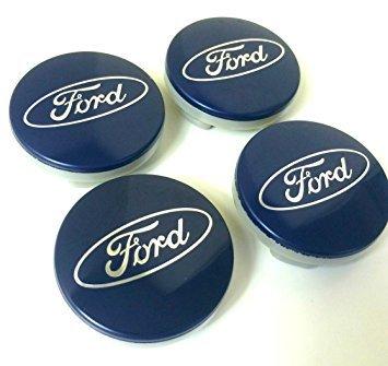 FORTEN CAR Juego de 4 tapacubos para llantas ruedas de aleación con logo Ford tamaño de 54 mm: Amazon.es: Coche y moto